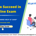 How to Succeed in Online Exam?