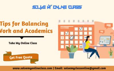 5 Tips for Balancing Work and Academics