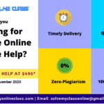 Are You Looking for Reliable Online Course Help