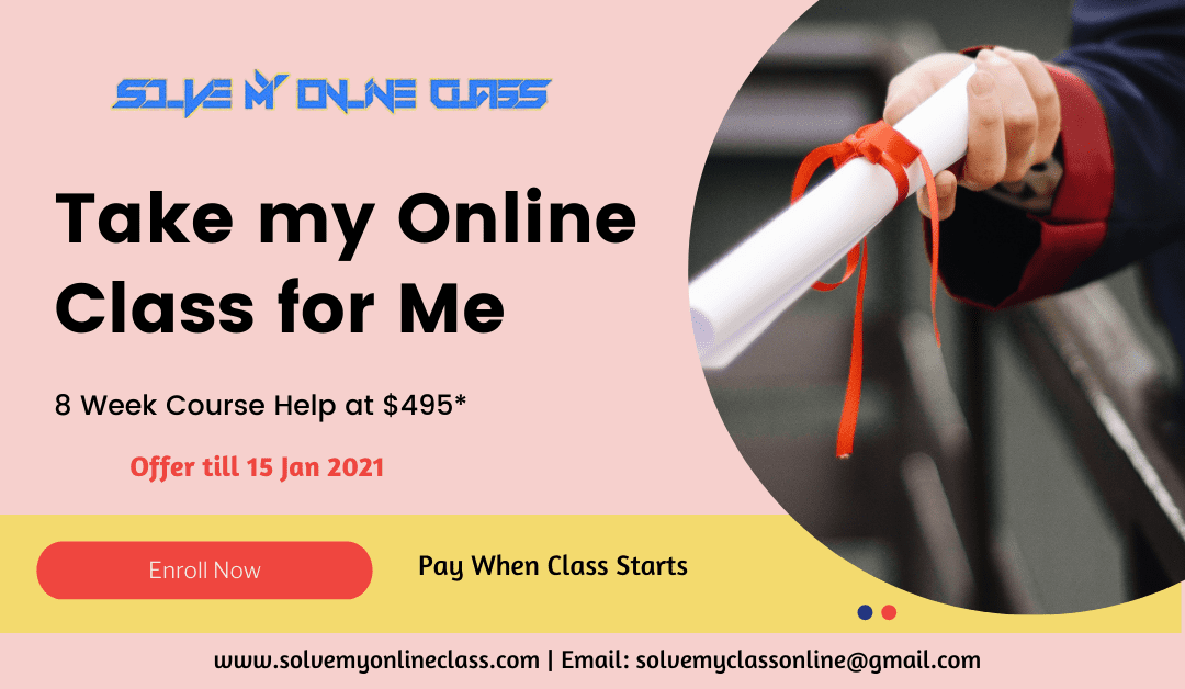 Take My Online class for me: Hire an Expert