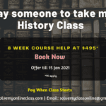 Take my online History class for me