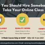 Why You Should Hire Somebody to Take Your Online Class
