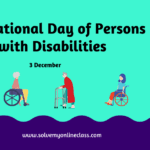 International Day of Persons with Disabilities
