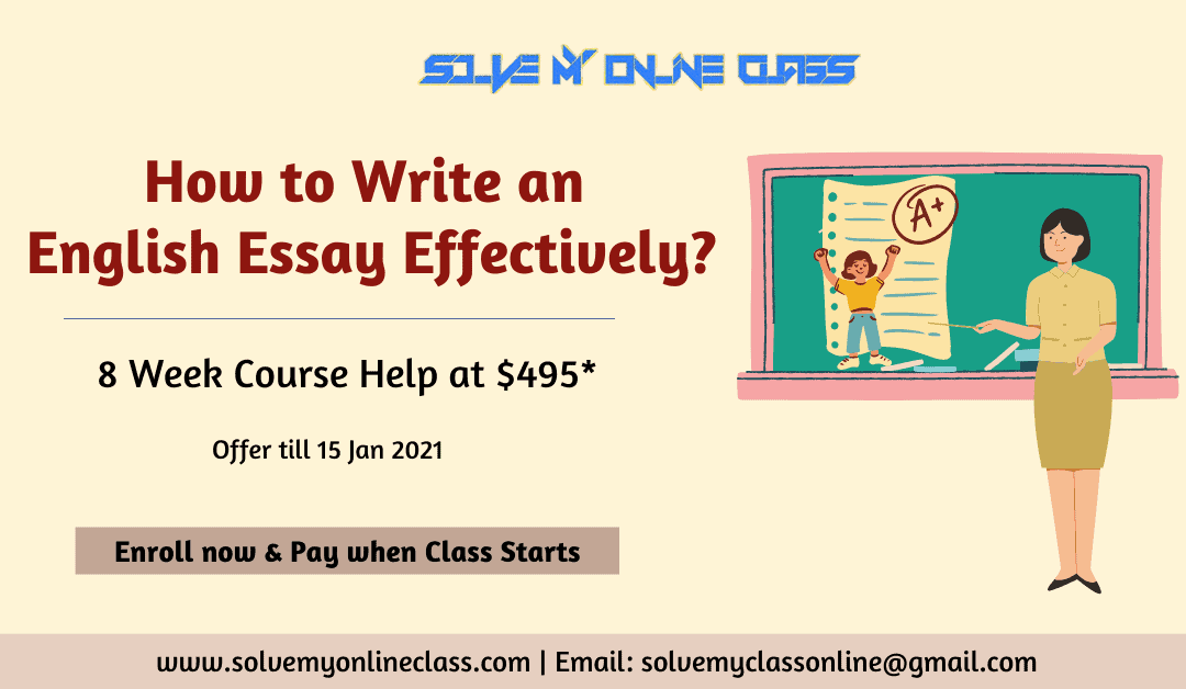 How to Write an English Essay Effectively?