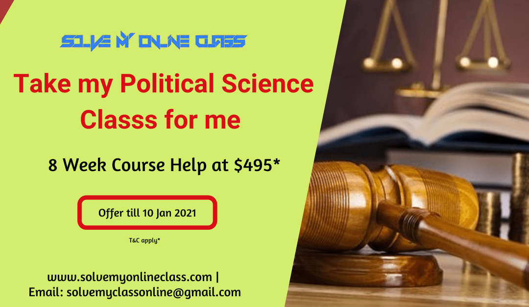 Take my online Political Science class for me