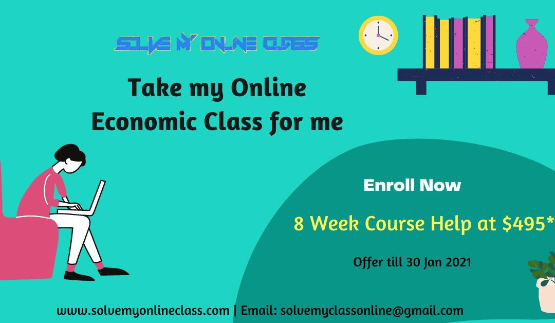 Take my Online Economics Quiz for me