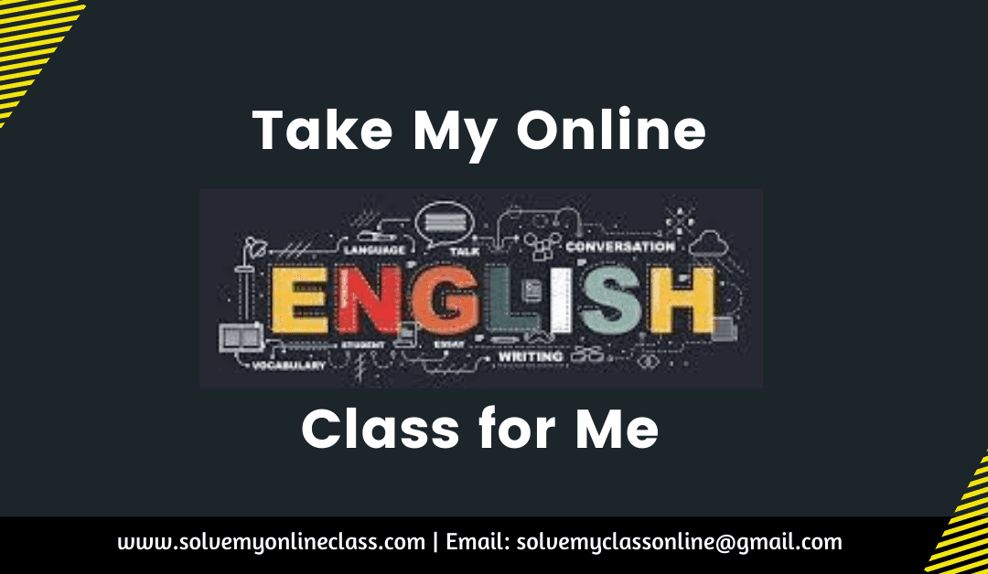 Take My Online English Class For Me