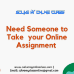 Take my Online Assignment Class for me