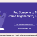 Pay Someone to Take My Online Trigonometry Test for me